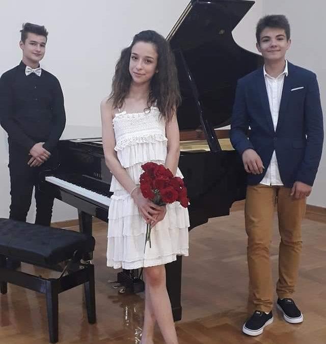 Maturski koncert Luke Petrovića i Konstantina Bečejića
