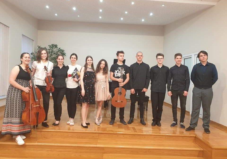 Koncert nagrađenih učenika