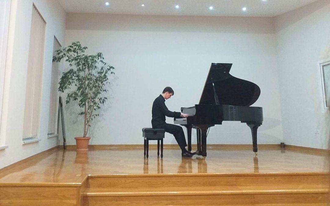 Koncert pijaniste Aleksandra Sinčuka