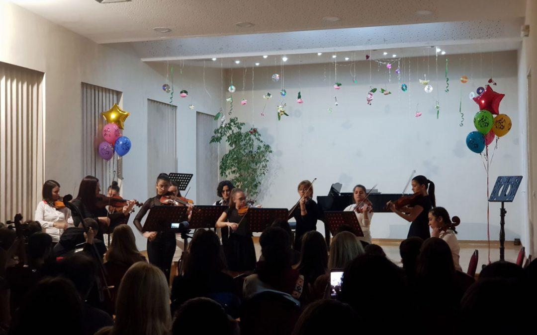 Koncert prijateljstva – sala škole